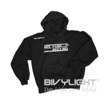 Bivylight Hooded Sweatshirt - Sex, Carp and Rock'n Roll