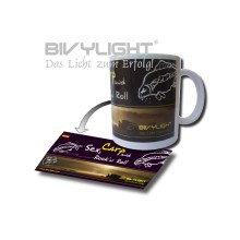Bivylight Tasse - Sex, Carp and Rock'n Roll