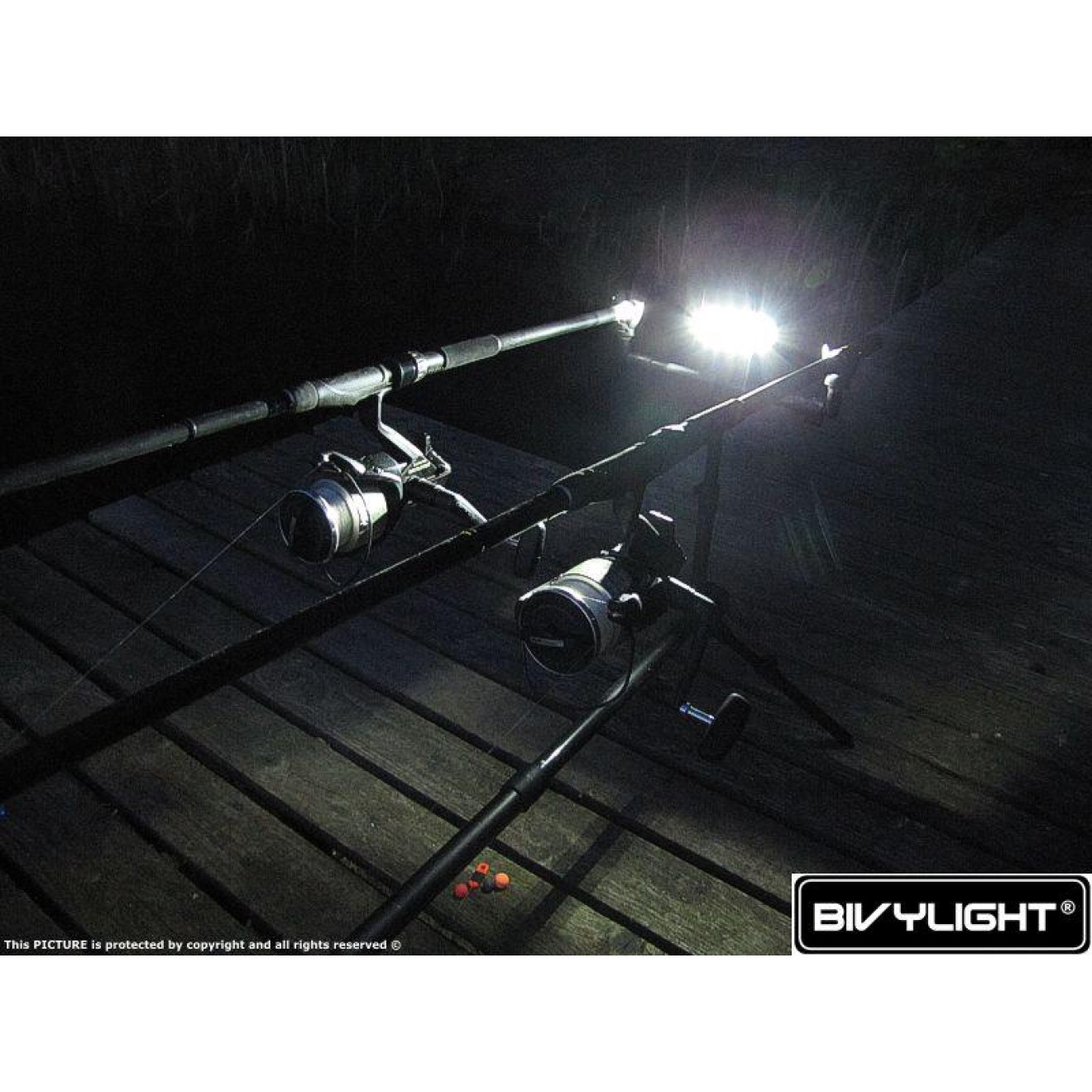 Bivylight Rod Pod Marker River